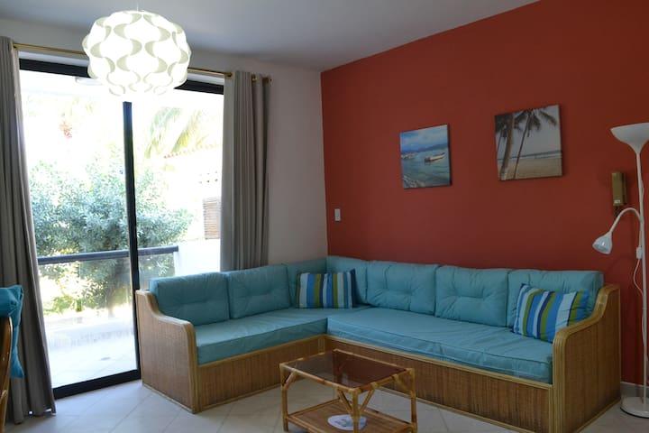 Caribbean Beachfront Apartment In Margarita Island