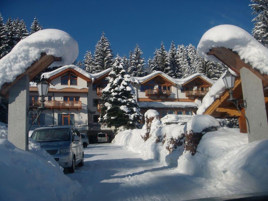 Gartenhotel Rosenhof_  Hotel/Ferienwohnungen/Ferienhäuser_Winterparadies
