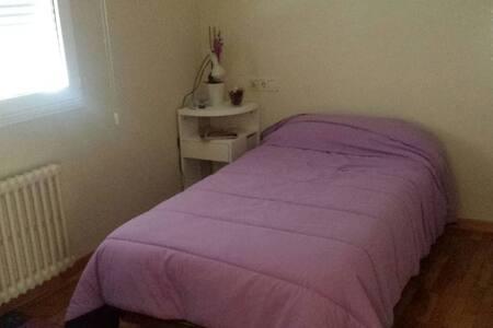 Habitación individual con acceso a todo el chalet - Poio