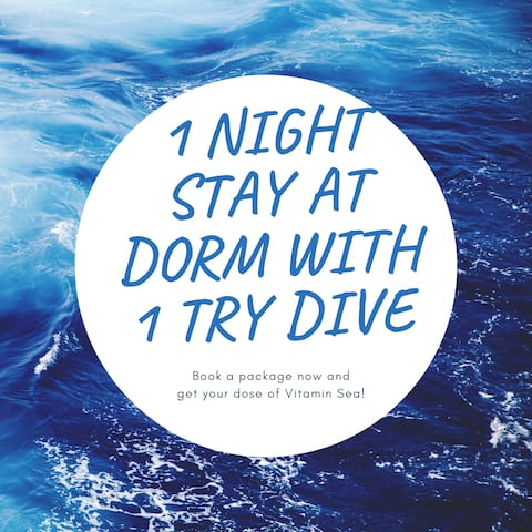 Perhentian Kecil -2D1N Discover Scuba Diving (DSD)
