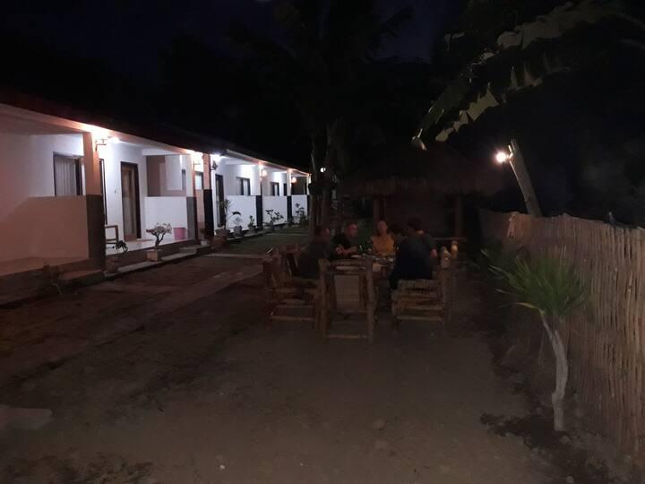 Hallway02 homestay kuta lombok