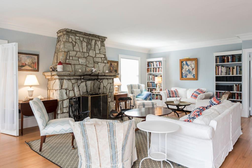 Living room, Stark carpets,
