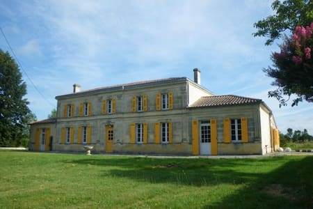Maison de maître près de Bordeaux - Saint-Savin - Casa