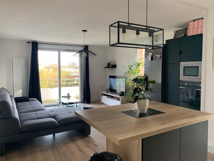 Appartement  2 chambres dans une résidence calme ✨