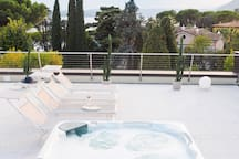 The Whirlpool on the roof