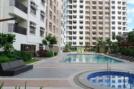 Furnished compact studio in Araneta Center, Cubao
