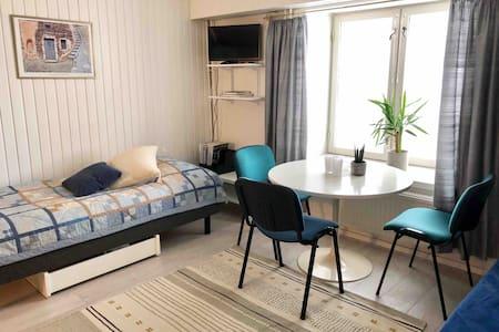 Studio apartment in the heart of Hämeenlinna