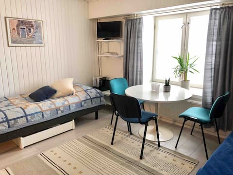 Studio apartment in the heart of Hämeenlinna