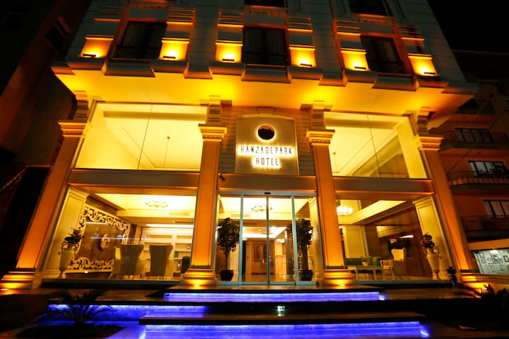 TESİS ADI : HANZADEPARK HOTEL   *** - Akçaabat - Andet