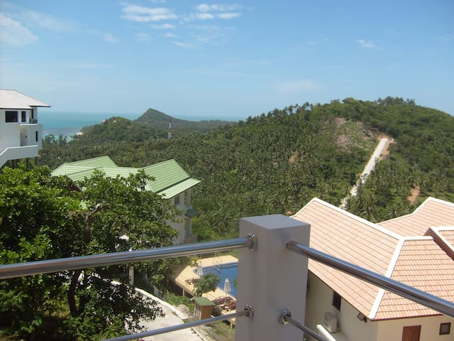 Samui-Paradise; Sea- and Jungleview - Ko Samui - Apartament