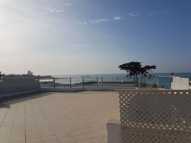 Appartement Contrebandier avec térasse vue-s-mer - Temara - Daire