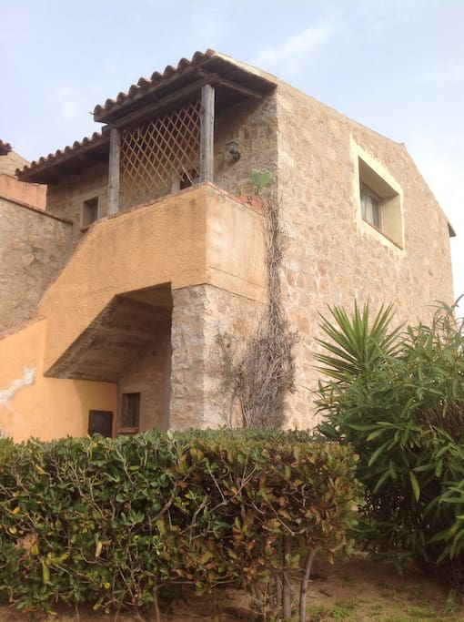 Casa esterna. Piano superiore