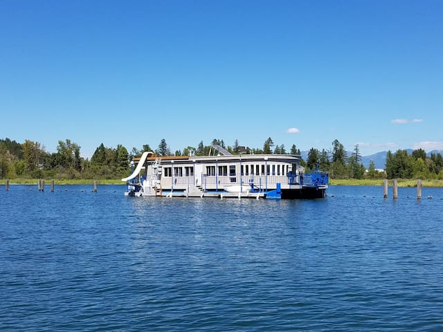 Incredible Houseboat on Flathead Lake w/waterslide - Somers - Boat