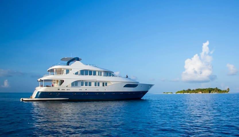 Maldives diving liveaboard