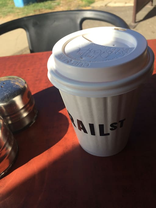 Just one block stroll to Wagga's Best Coffee