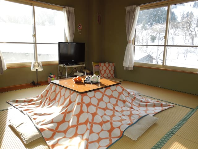 A cozy Japanese style room - Minamiuonuma-shi - Bed & Breakfast