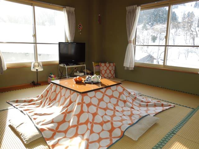 A cozy Japanese style room - Minamiuonuma-shi