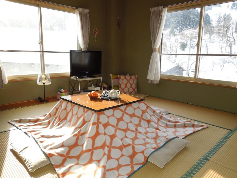 A cozy japanese style room bed and breakfasts for rent for Bed and breakfast tokyo