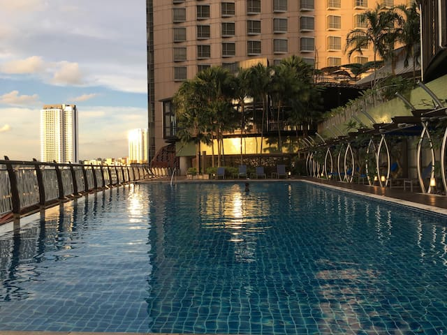 Midvalley-KL/Sentral Gardens Residence w Balcony - Kuala Lumpur - Huoneisto