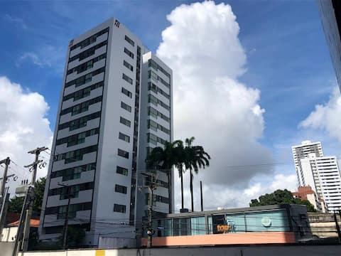 Apt aconchegante no bairro mais popular do Recife
