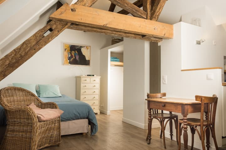 Studio loft centre historique de Caen