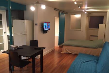Garçonnière Métro Rosemont - Montreal - Apartamento