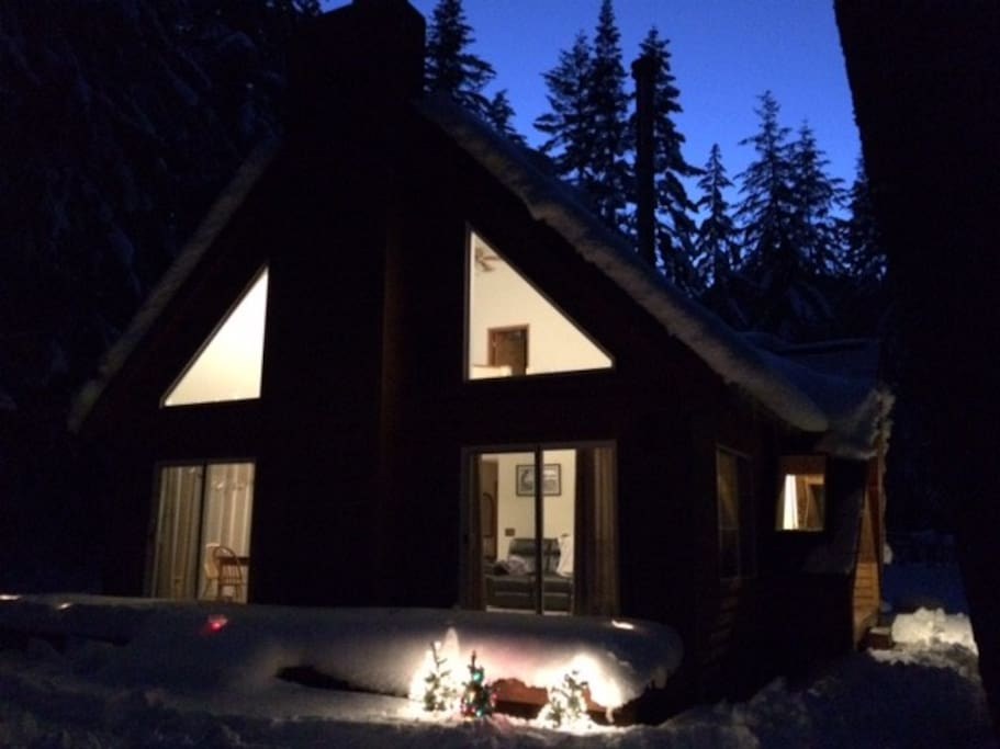 Wasabi woods near crystal mountain cabins for rent in for Crystal mountain cabin rentals