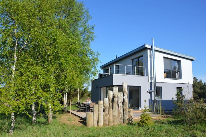 Traumlage in purer Natur mit Blick auf den Bodden - Zingst - House