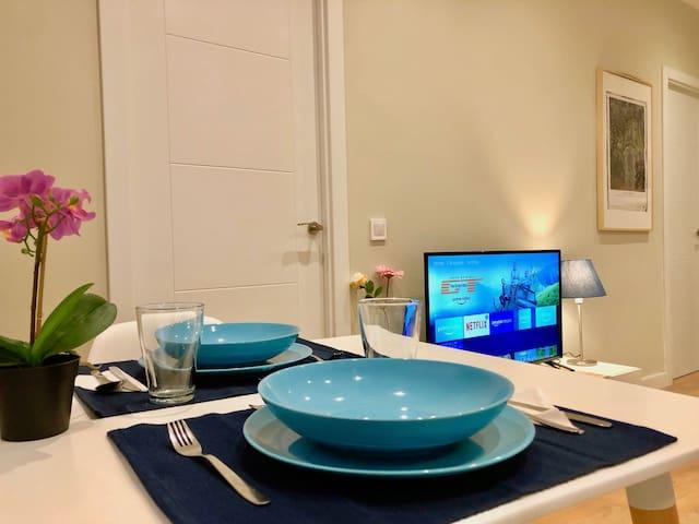 Apartamento Brigida - Nuevo, bien comunicado y con mucho encanto