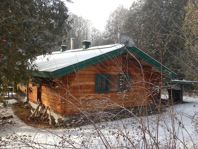 Cozy Guest Cottage - Saint-Sauveur - Cabin