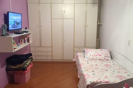 Quarto em casa, Alphaville - Santana de Parnaíba - Rumah