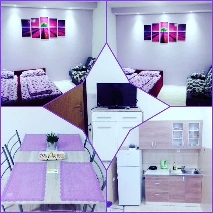 """Apartment""""Lavander""""suitable for 4 persons, fully equipped"""