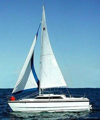 26 foot sailboat near Orillia - Orillia - Barco