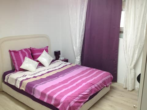 Purple Room, Commugny, Switzerland