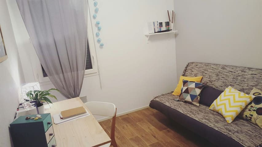 Chambre privée style scandinave