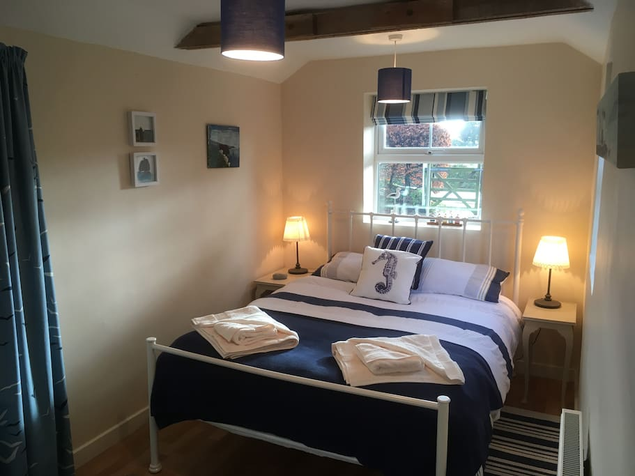 Light and bright double bedroom