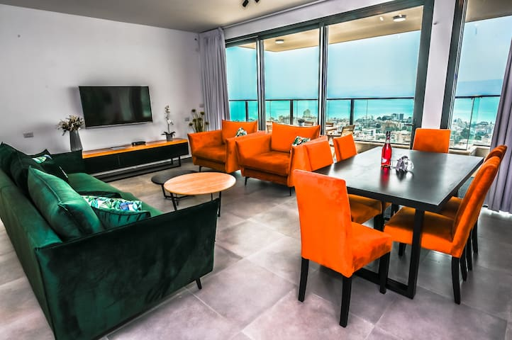 Nino Panoramic - 3Bdrm Luxury Flat/SeaoftheGalilee