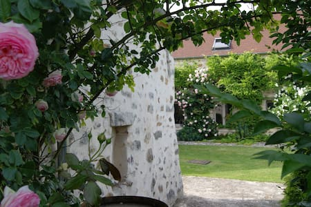 Chambre & jardin 8mn A1 pres Senlis Crepy Asterix - Fresnoy-le-Luat - 住宿加早餐