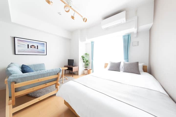 【New 30%OFF】9 mins from Tennoji station【Free-Wifi】