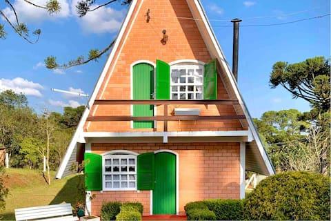 Cozy Lodge in Serra Catarinense