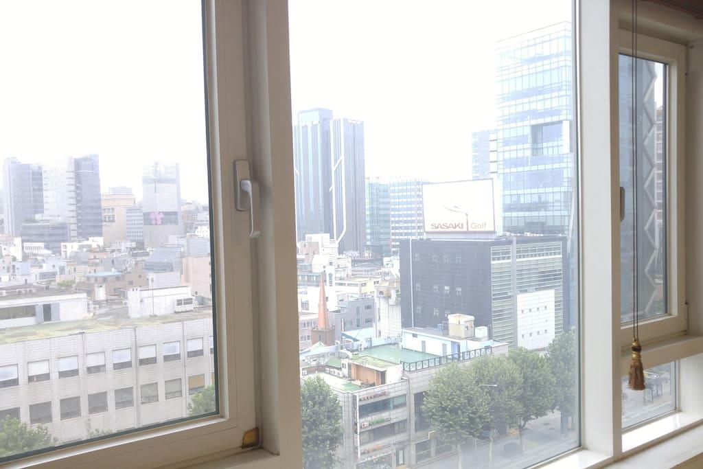 시내뷰/City View/市内前景