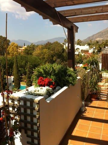 Amplias terrazas y las mejores vistas