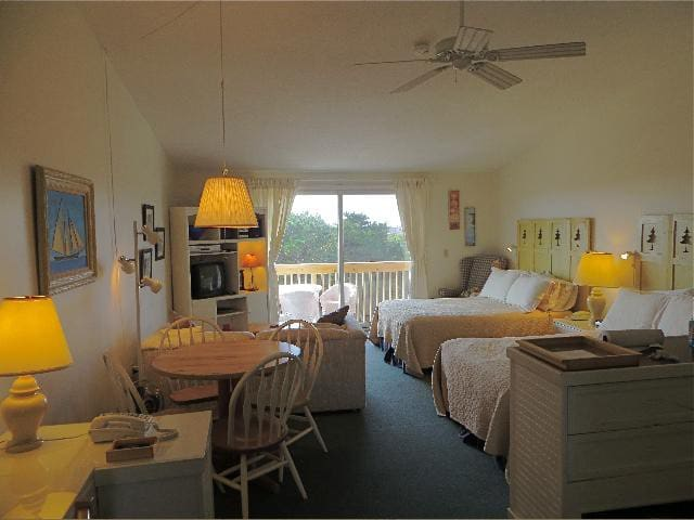 Unit  #20 - 2nd Floor Deluxe Efficiency,  Private Deck with distant Bay View