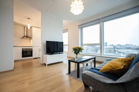 Stylish apartment in the city center free parking