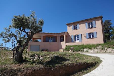 Villa Aurélia (Provence/Var), Vue et Piscine - Flayosc