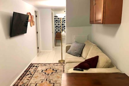 Cozy private basement apt with separate entrance