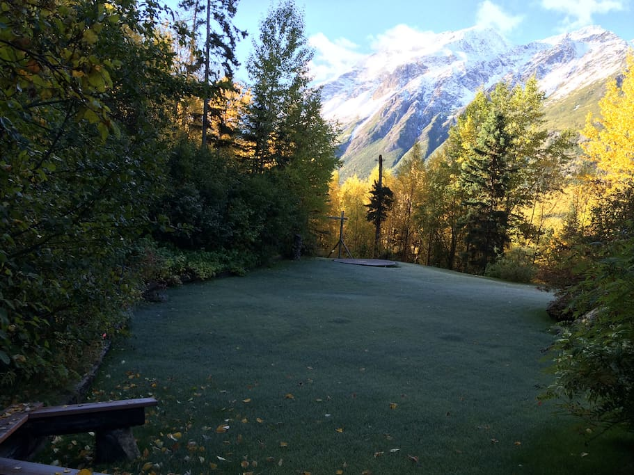 Chugach State Park is our back yard !
