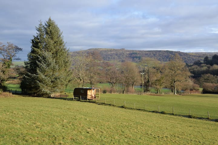 Aber Farm Woodman's Cabin - Talybont-on-Usk - Choza