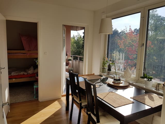 Lovely 3room apartment close to nature!