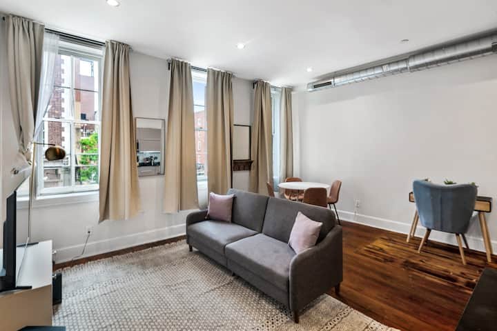 Urban 1BR in Phillys Old City